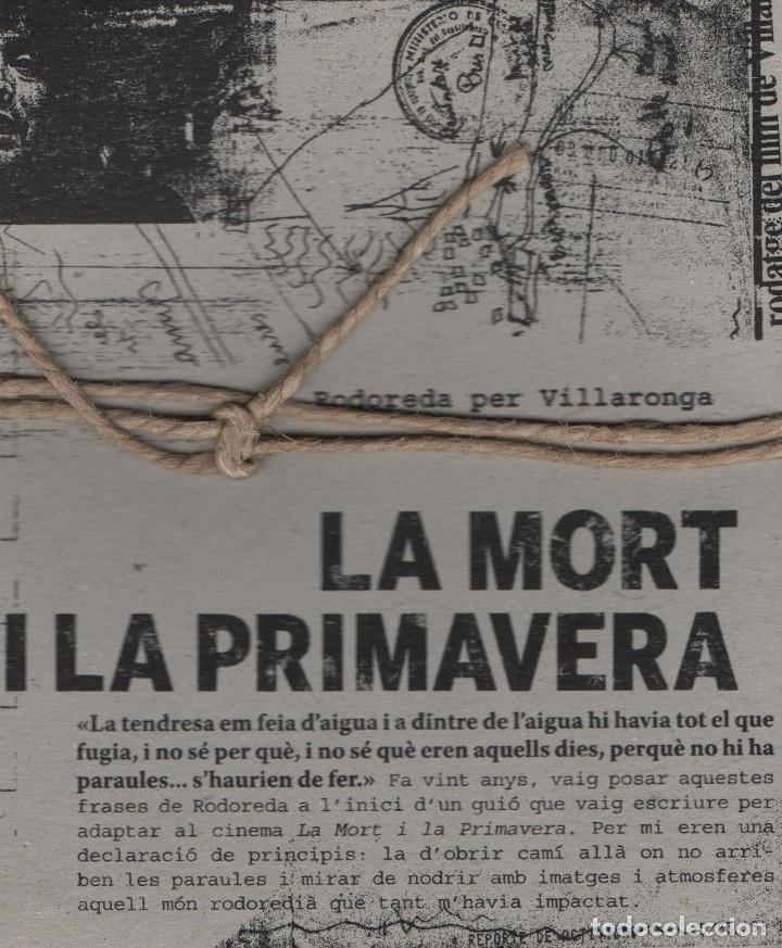 LA MORT I LA PRIMAVERA. RODOREDA PER VILLARONGA. 2009. NUEVO. (Libros nuevos sin clasificar)