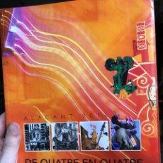 Libros: LLIBRET HOGUERA GRAN VÍA GARBINET 2016 ALICANTE SAN JUAN SANT JOAN FOGUERES. Lote 271389503