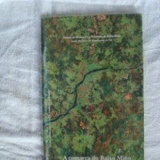 Libros: A COMARCA DO BAIXO MIÑO. HOME E PAISAXE. ESCOLA OBRADOIRO DE RESTAURACIÓN DE TUI. 1992.. Lote 271599148