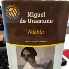 Livros: MIGUEO DE UNAMUNO - NIEBLA - TRAD IGNACIO AMESTOY - BIBLIOTECA EL MUNDO. Lote 271815658