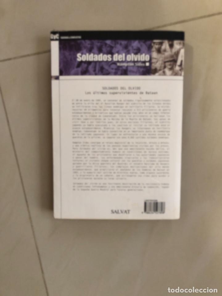 Libros: Libro soldados del olvido los últimos supervivientes de bataan - Foto 2 - 274178033