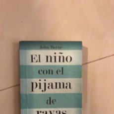 Libros: LIBRO DEL NIÑO DEL PIJAMA DE RAYAS. Lote 274178148