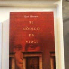 Libros: LIBRO EL CÓDIGO DA VINCI. Lote 274412793