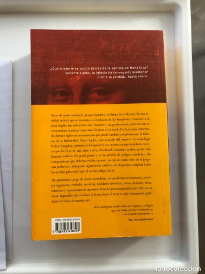 Libros: Libro el código da Vinci - Foto 2 - 274412793