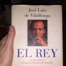 Livros: EL REY CONVERSACIONES CON DON JUAN CARLOS I DE ESPAÑA JOSÉ LUIS DE VILLALONGA. Lote 274714263