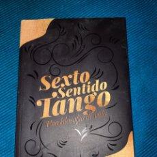 Libros: LIBRO SEXTO SENTIDO TANGO, UNA FILOSOFÍA DE VIDA, 1°EDICIÓN, SÓLO 300 EJEMPLARES, ADRIÁN A. HEIM. Lote 276093893