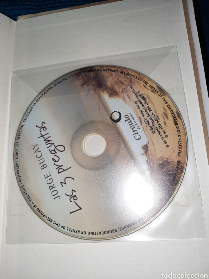 Libros: JORGE BUCAY , LAS TRES PREGUNTAS,QUIEN SOY?, A DONDE VOY? , CON QUIÉN? , INCLUYE CD - Foto 3 - 273303618