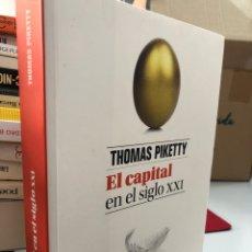 Livros: EL CAPITAL EN EL SIGLO XXI THOMAS PIKETTY. Lote 276821548