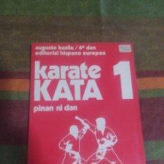 Libros: LIBRO KARATE KATA 1. Lote 276995483