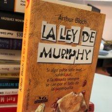 Livros: LA LEY DE MURPHY - ARTHUR BLOCH. Lote 277046393