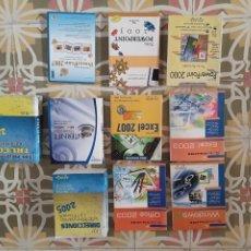 Libros: POWE POINT 2000-2003-2007 EXCEL 2003-2007 OFFICE 2003 WINDOWS ME INTERNET 2008 TRUCOS 2005 NUEVOS. Lote 277061908