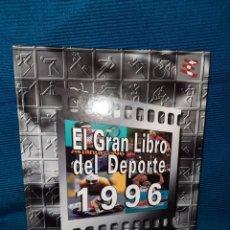 Libros: EL GRAN LIBRO DEL DEPORTE 1996 BBV HEWLETT PACKARD ,GRUPO CORREO DE COMUNICACIÓN. Lote 277101018