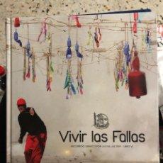 Libros: VIVIR LAS FALLAS - RECORRIDO GRÁFICO 2009 - VALENCIA FALLES. Lote 277296848