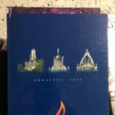 Libros: FOGUERES ALACANT SANT JOAN FEDERACIO 2003 ANIGERSARIO 1928 ALICANTE HOGUERAS SAN JUAN. Lote 277296958