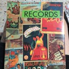 Libros: LLIBRET RECORDS 1993 PORT D'ALACANT FOGUERES SANT JOAN ALICANTE HOGUERAS SAN JUAN. Lote 277297288