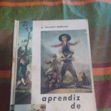 Libros: APRENDIZ DE HOMBRE. Lote 277681893