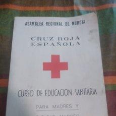 Libros: ASAMBLEA REGIONAL DE MURCIA CRUZ ROJA ESPAÑOLA. Lote 277682483