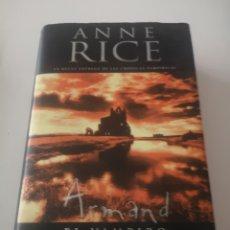Libros: ARMANDO EL VAMPIRO ANNE RICE. Lote 278177493