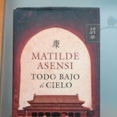 Libros: LIBRO TODO VAJO EL CIELO. Lote 278560098
