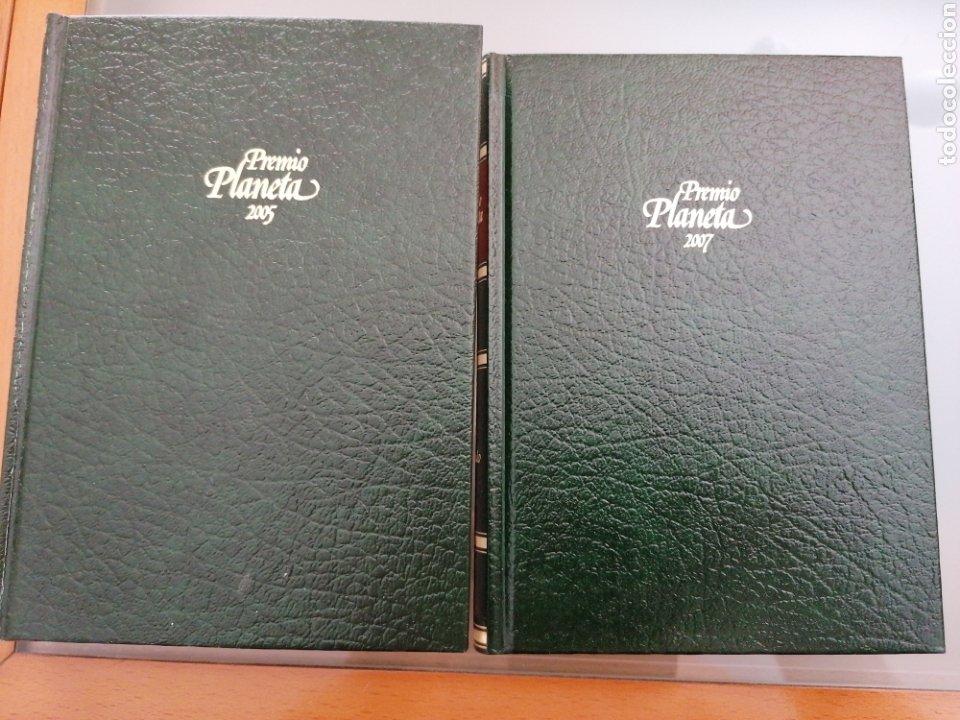 2 LIBROS PREMIOS PLANETA (Libros nuevos sin clasificar)