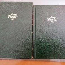 Libros: 2 LIBROS PREMIOS PLANETA. Lote 278562308