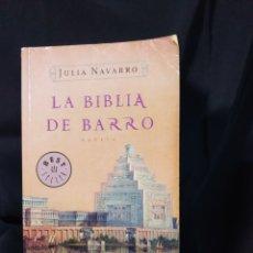 Libros: LIBRO ,JULIA NAVARRO ,LA BIBLIA DE BARRO. Lote 278625903