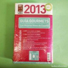 Libros: GUIA GOUMETS 2013 . NUEVO SIN ESTRENAR PRECINTADO. Lote 279437058
