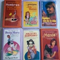 Libros: OFERTA - LOTE DE 6 LIBROS NUEVOS (TODAVÍA SIN DESPRECINTAR), TEMAS DE HOY. Lote 280649418