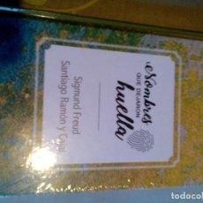 Libros: R ES/ LIBRO NUEVO PRECINTADO/NOMBRES QUE DEJARON HUELLA/SIGMUND FREUD/SANTIAGO RAMON Y CAJAL. Lote 284014158