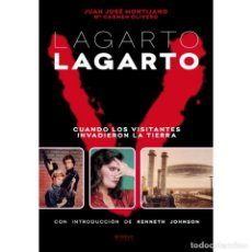 Libros: LAGARTO LARGARTO. CUANDO LOS VISITANTES INVADIERON LA TIERRA. - MONTIJANO Y OLIVERO - DIABOLO. Lote 287990508