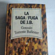 Livres: LA SAGA. FUGA DE J.B. GONZALO TORRENTE BALLESTER. NUEVO PRECINTADO. Lote 288058533