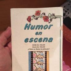 Libros: HUMOR EN ESCENA (LIBRO DE CHISTES). Lote 289511673