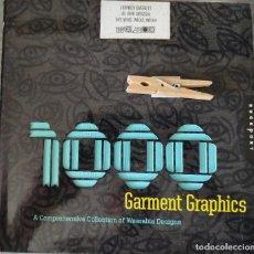 Libros: 1000 GARMENT GRAPHICS -JEFFREY EVERETT. Lote 290093533