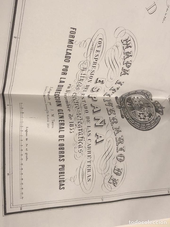 Libros: Memoria sobre el estado de las obras públicas en España en 1856 - Foto 5 - 290108668