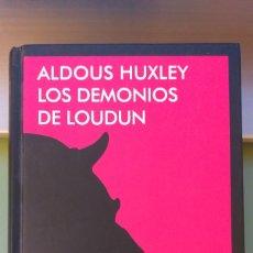 Livros: LOS DEMONIOS DE LOUDUN LIBRO DE ALDOUS HUXLEY NAVONA FICCIONES POSESION DEMONIACA + 5€ ENVIO CN. Lote 293700708