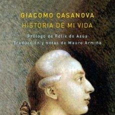 Libros: HISTORIA DE MI VIDA 2 TOMOS OBRA COMPLETA . CASANOVA CASANOVA, GIACOMO . ATALANTA., 2021. MEMORIAS. Lote 293941223