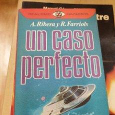 Libros: UN CASO PERFECTO ANTONIO RIBERA. Lote 294934683
