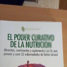 Libros: LIBRO: EL PODER CREATIVO DE LA NUTRICIÓN. Lote 294958958