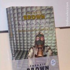 Libros: VEN Y ENLOQUECE Y OTROS CUENTOS DE MARCIANOS CIENCIA FICCION Nº 1 FREDRIC BROWN - GIGAMESH OFERTA. Lote 295727883