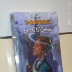 Libros: OCULTAME ENTRE LAS TUMBAS TIM POWERS - GIGAMESH OFERTA. Lote 295729208