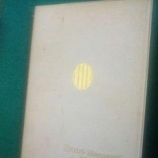 Libros: GUIA DE CARRETETAS D CATALUÑA 1971 EFT JORGE FOIX. Lote 295786663