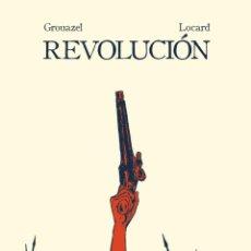 Libros: REVOLUCIÓN (NOVELA GRÁFICA) FLORENT GROUAZEL Y YOUNN LOCARD. -NUEVO. Lote 296705758