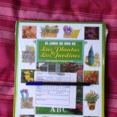 Libros: EL LIBRO DE ORO DE LAS PLANTAS Y LOS JARDINES. Lote 54571342