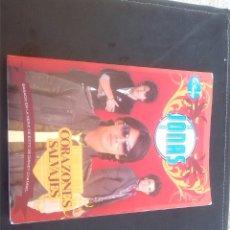 Libros: LIBRO CORAZONES SALVAJES JONAS BROTHERS. Lote 56614870