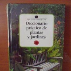 Libros: DICCIONARIO PRACTICO DE PLANTAS Y JARDINES--CLUB INTERNACIONAL DEL LIBRO. Lote 58688585