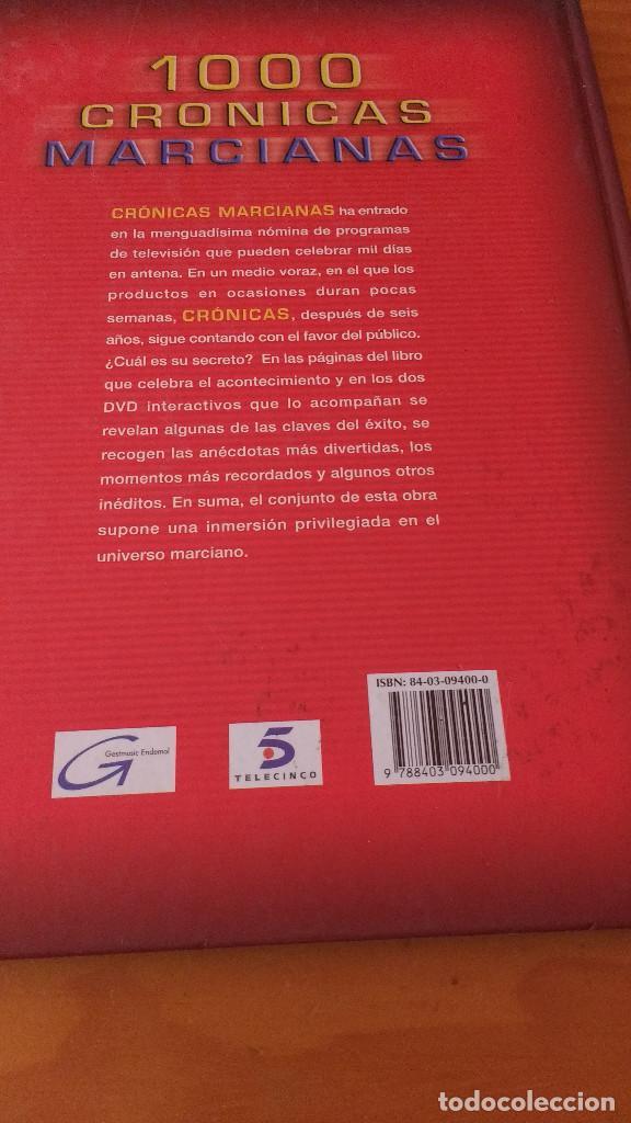 Libros: 1000 CRÓNICAS MARCIANAS (GESTMUSIC, 1ª Edición 2003) TAPA DURA - +190 págs. - Foto 2 - 62421704