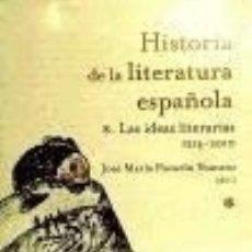 Libros: LAS IDEAS LITERARIAS. Lote 67831101
