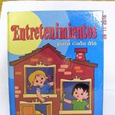 Livros: ENTRETENIMIENTOS PARA CADA DÍA. SUSAETA EDICIONES 1985.. Lote 68236993