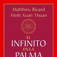 Libros: EL INFINITO EN LA PALMA DE LA MANO. Lote 70755843