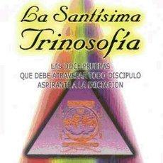 Livros: LA SANTÍSIMA TRINOSOFÍA. Lote 70757827
